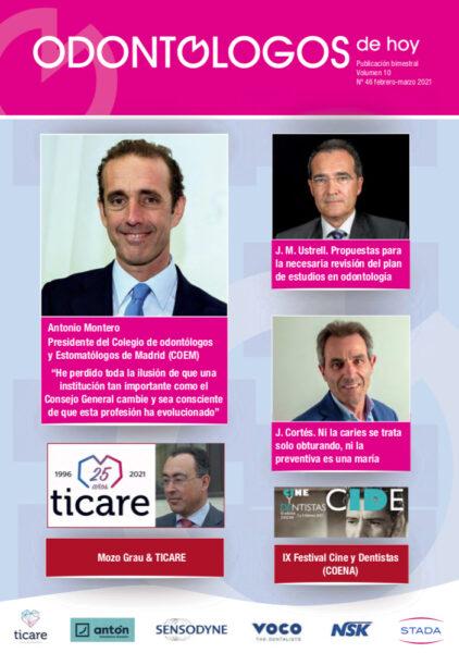 El nuevo currículo de Cariología comentado por el Dr. Javier Cortés en el último número de Odontólogos de Hoy